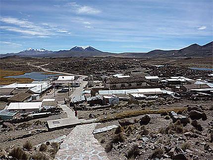 Vue sur Parinacota