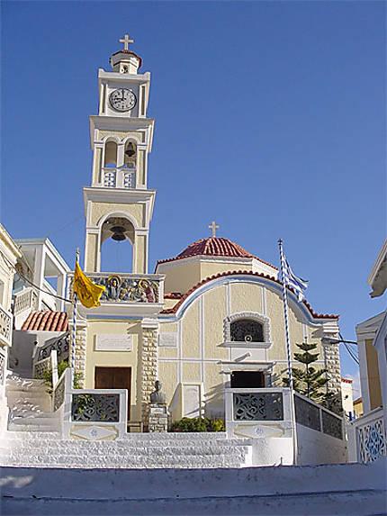 L'église de Olymbos
