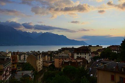 Vue sur Montreux depuis les hauteurs