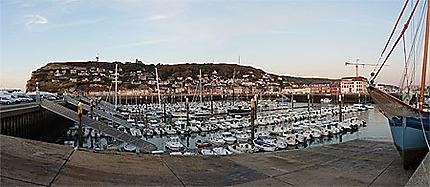 Port de Fécamp panoramique