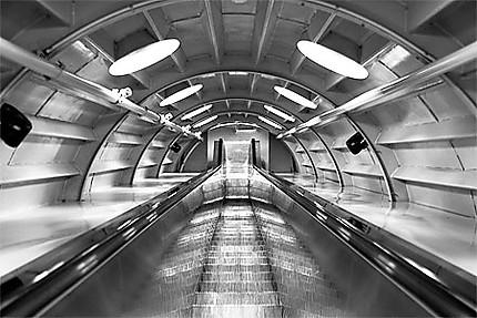 Bruxelles - Atomium - Escalator