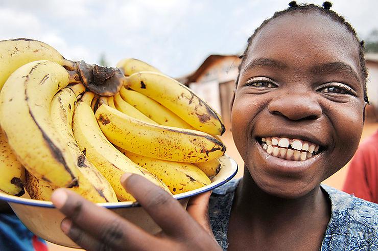 Vendeuse de bananes, Malawi