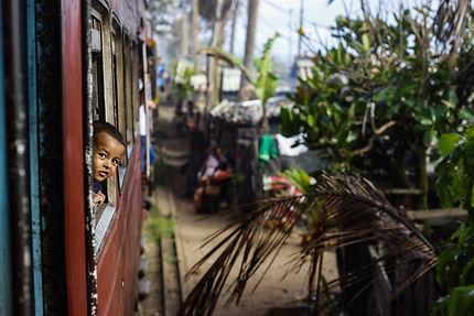 Le jeune homme du train