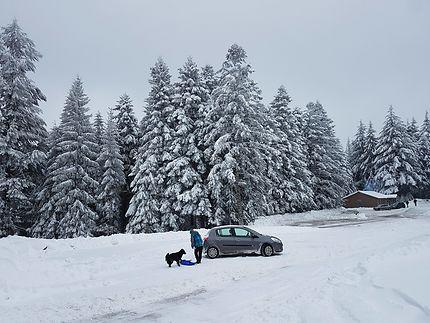 Souvenir d'hiver à Arconsat