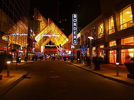 Fourth street de nuit