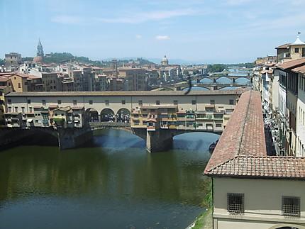 Le Ponte Vecchio sur L'Arno