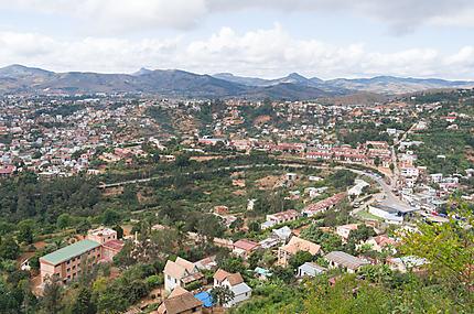 Fianarantsoa panorama