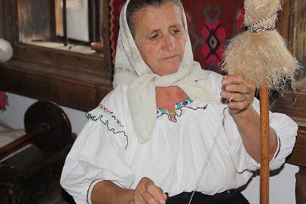 Au musée de Ieud, Roumanie