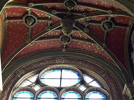 Plafond joliment décoré