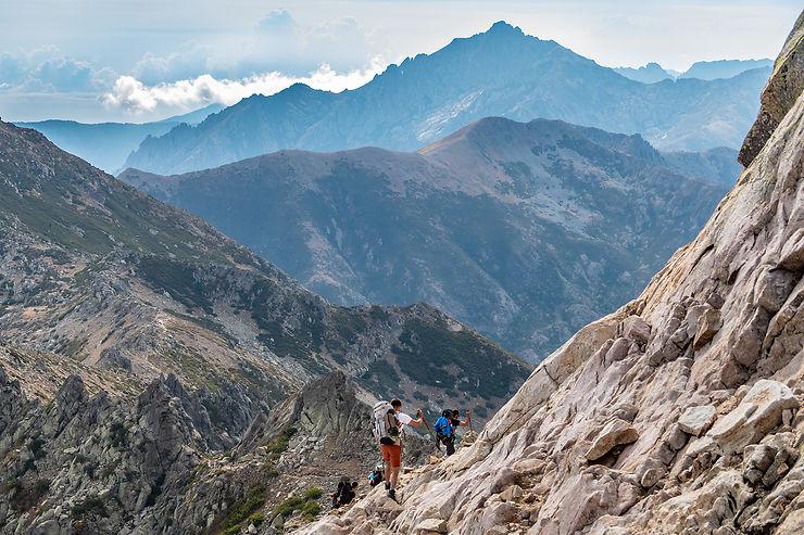 Les randonnées : GR20, Mare e Monti, sentier Campomoro Senetosa