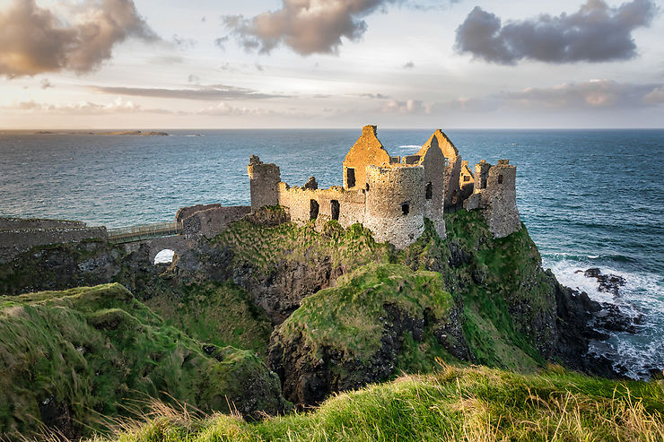 Dunluce Castle (Irlande du Nord)