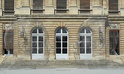 Face à face au Palais Rohan