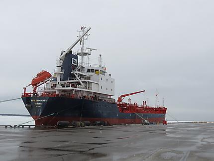 Pétrolier au Port de Rimouski