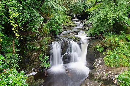 Au dessus de Torc waterfall
