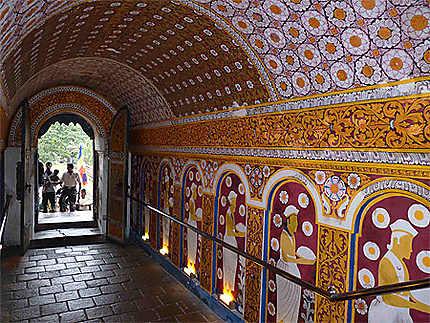 Entrée du temple de Kandy