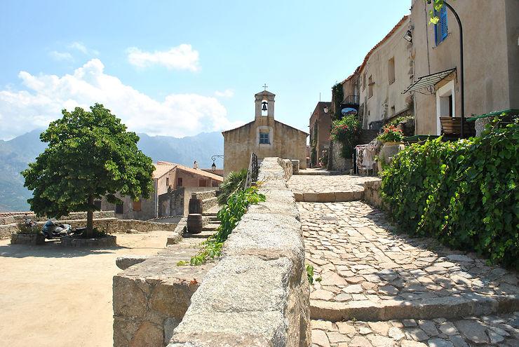 Villages corses : Balagne, Zonza, Sainte-Lucie-de-Tallano