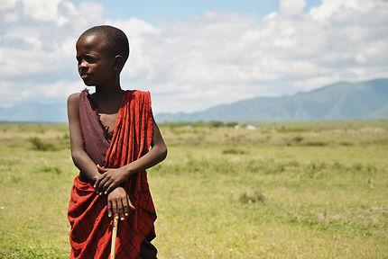 Enfant Masaï à Mto Wa Mbu