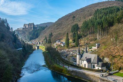 Vianden au Luxembourg