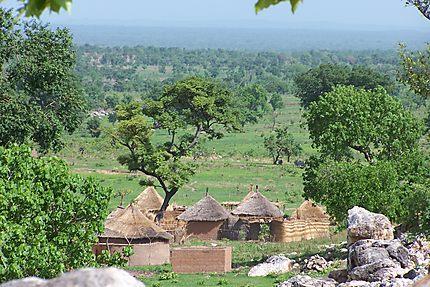 Village dans le centre du Cameroun