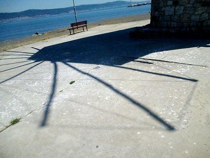L'ombre du vieux moulin