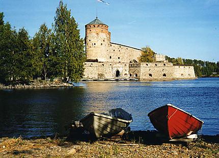 Le château sur le lac Saimaa