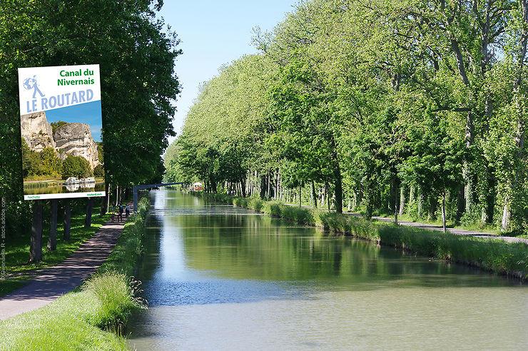 Le Canal du Nivernais avec le Routard