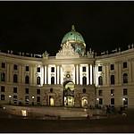 Hofburg de nuit