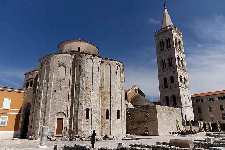 Eglise Saint-Donat de Zadar, Croatie
