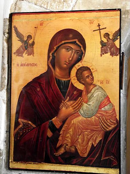 Icone de l'église kyriaki chrysopolitissa