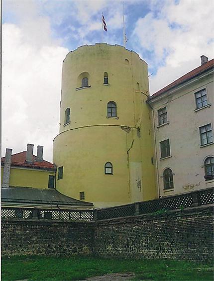 Tour du château de Riga
