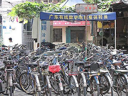 Parc de vélos