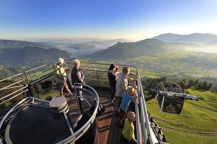 À découvrir près de Lucerne : le CabriO, un téléphérique avec rooftop