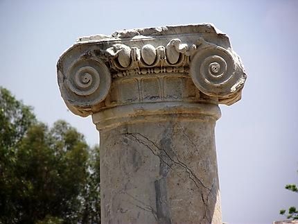 Chapiteau colonne de St Paul