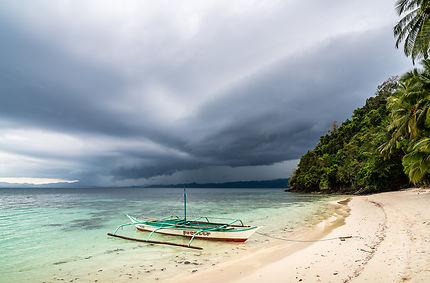 Orage en vue sur Palawan