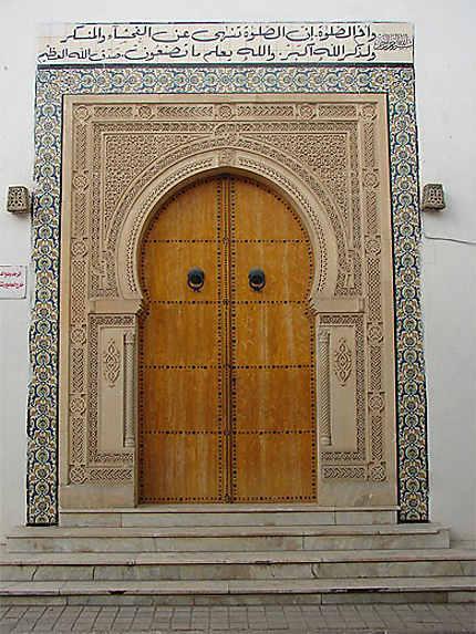 Une porte traditionnelle
