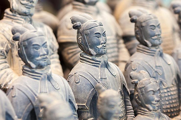 Armée enterrée de l'empereur Qin (Chine)