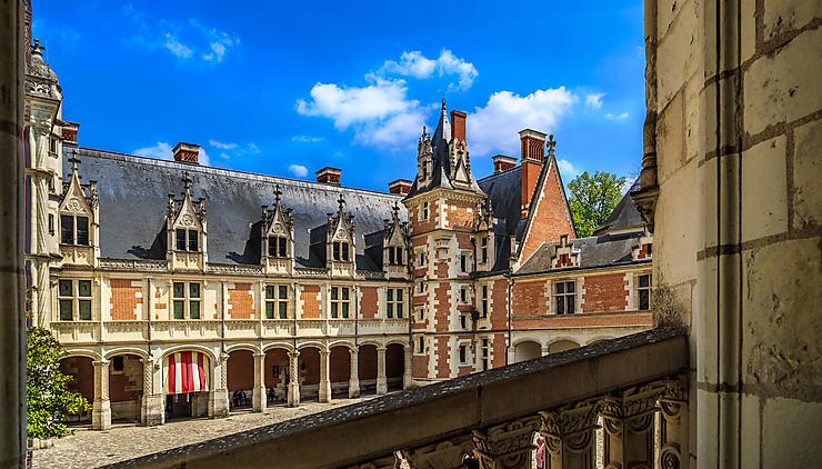 Val de Loire - De nouveaux jardins au château royal de Blois