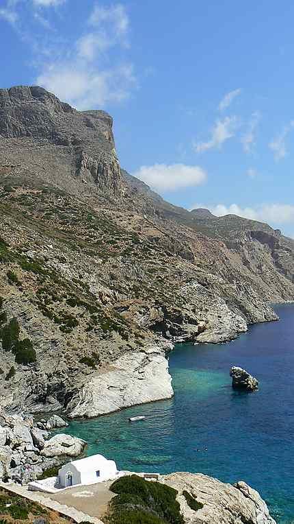 Plage d'Agia Anna Amorgos