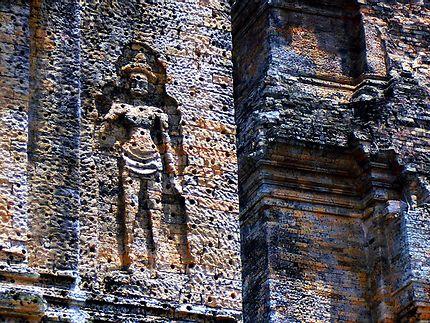 Temple Mébon oriental, Cambodge, détails