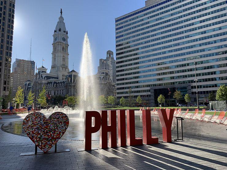 Le bonheur, tout simplement à Philadelphie
