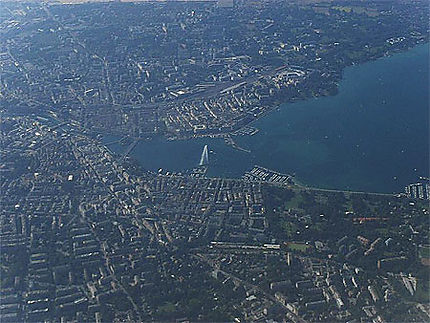 Genève vue du ciel