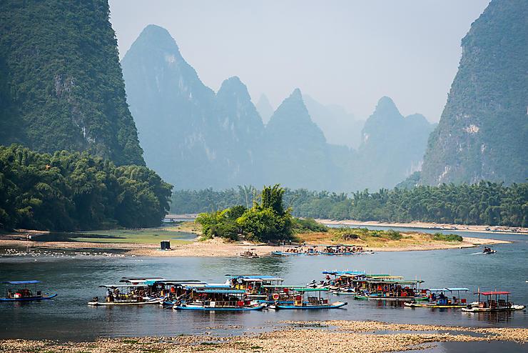 Guilin et la rivière Li (Chine)