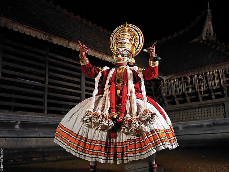 Inde - Kathakali et kalarippayat : le folklore made in Kerala