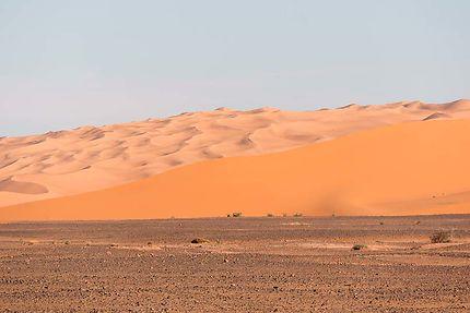 Tin Merzouga - Graphismes dunaires