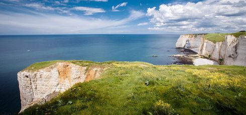 La Normandie, côté falaises - Alan Aubry – Département de la Seine-Maritime
