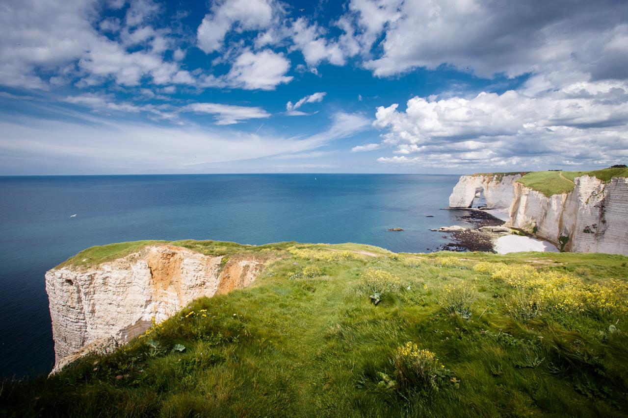 Etretat Et Fecamp La Normandie Cote Falaises Idees Week End