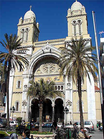 Unique cathédrale en Tunisie