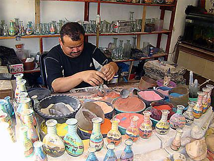 Artisan à Madaba