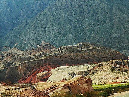 Des roches aux couleurs exceptionnelles