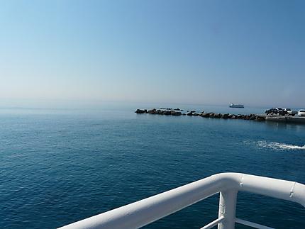 Embarquement à Iérapétra